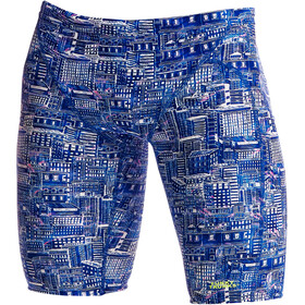 Funky Trunks Training Jammers Men sky city